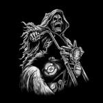 GIMP hooded Skull Harley WIP